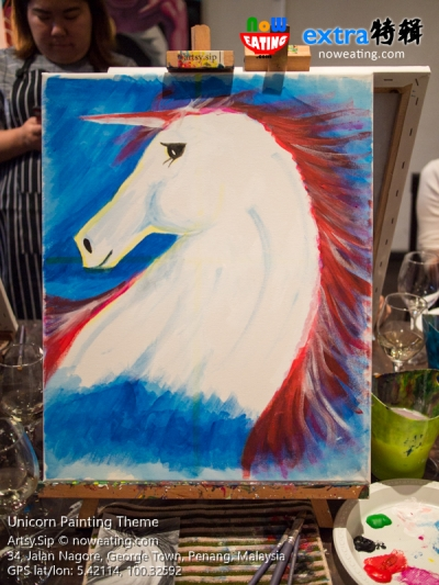 Unicorn Painting Theme