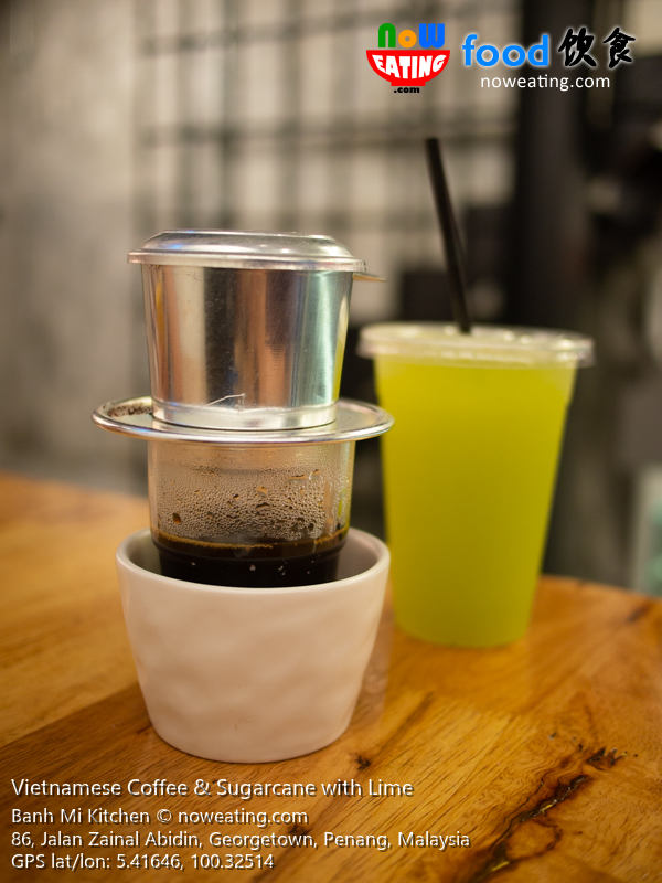 Vietnamese Coffee & Sugarcane with Lime