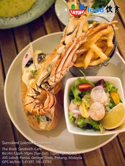 Succulent Lobster Sandwich