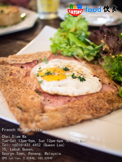 French Ham Galette