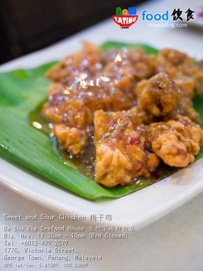Sweet and Sour Chicken 梅子鸡