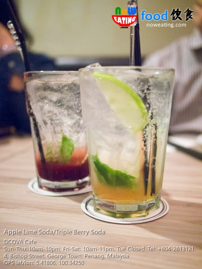 Apple Lime Soda/Triple Berry Soda