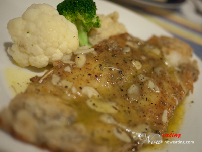 Pan-fried fillet of Dory