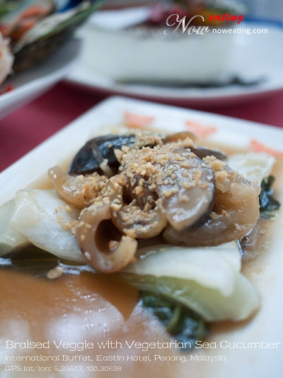 Braised Veggie with Vegetarian Sea Cucumber