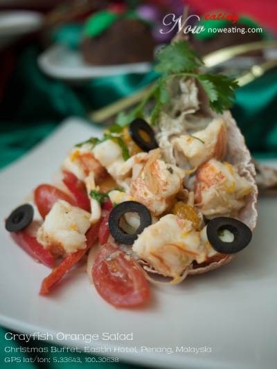 Crayfish Orange Salad