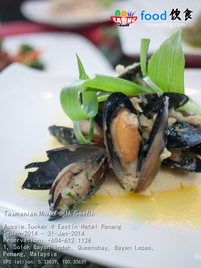 Tasmanian Mussel with Garlic