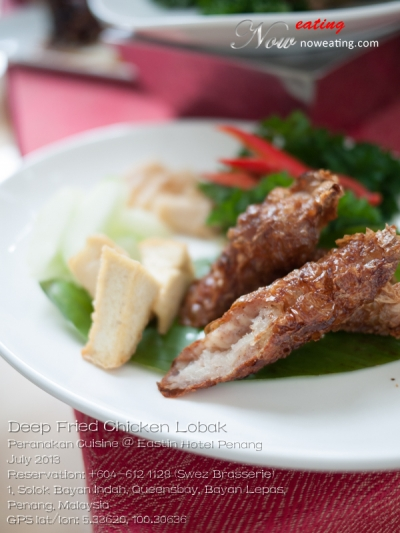 Deep Fried Chicken Lobak