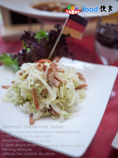 German Sauerkrat Salad