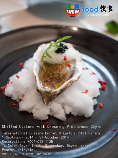 Chilled Oysters with Dressing Vietnamese Style