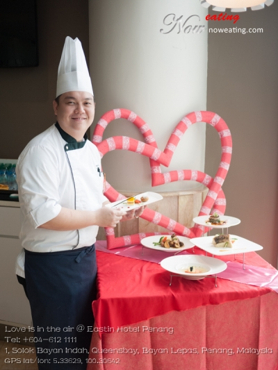 Love is in the air @ Eastin Hotel PenangTel: +604-612 1111