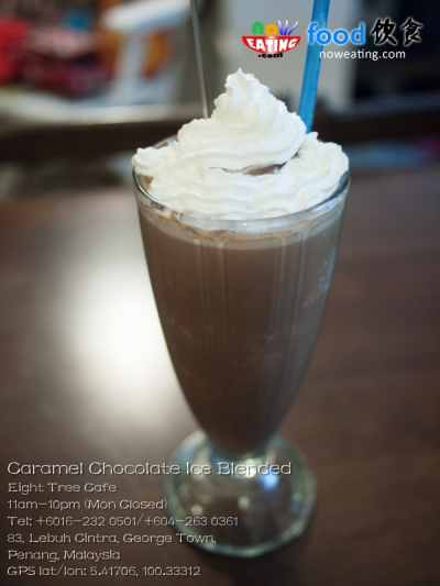 Caramel Chocolate Ice Blended