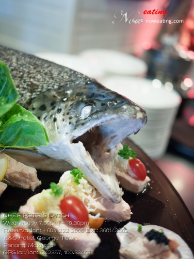 CHEF PETR'S CATCHWednesday 7.00pm - 10.30pmReservation: +604 222 2000 Ext: 3601/3602
