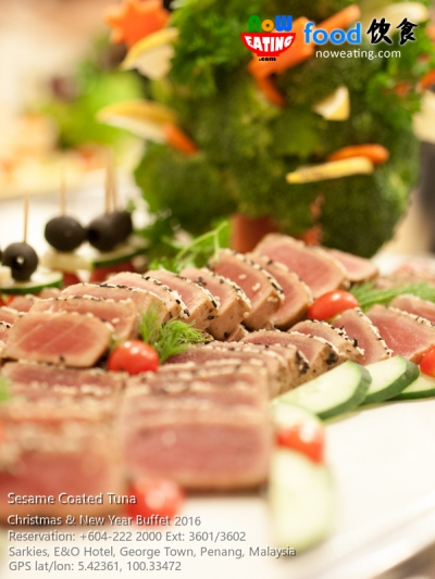 Sesame Coated Tuna