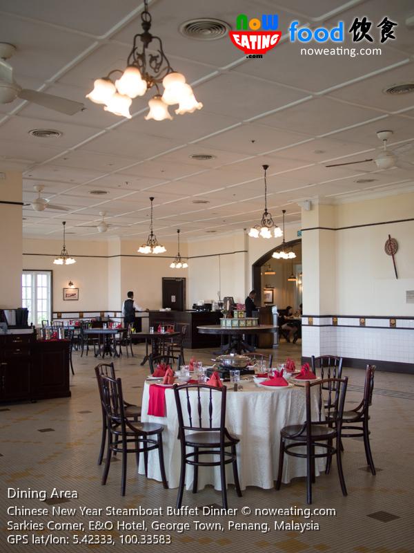 CNY Steamboat Buffet Dinner EO Hotel