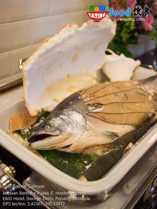 Salt-Baked Salmon