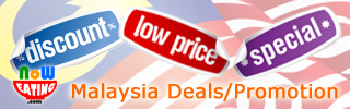 Malaysia Online Deals/Promotion