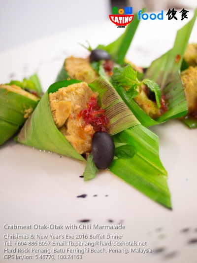 Crabmeat Otak-Otak with Chili Marmalade