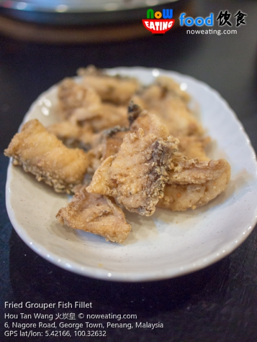Fried Grouper Fish Fillet