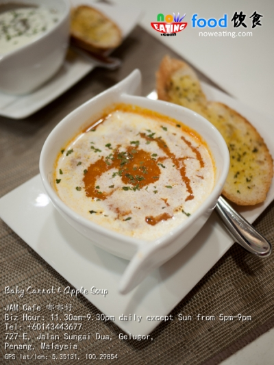 Baby Carrot & Apple Soup