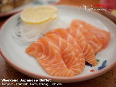 Weekend Japanese Buffet