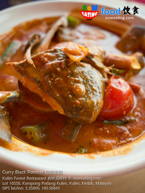 Curry Black Pomfret 咖喱黑鲳