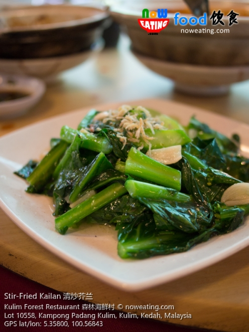 Stir-Fried Kailan 清炒芥兰