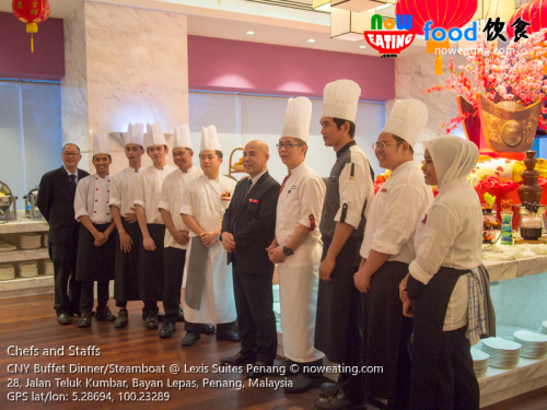 Chefs and Staffs