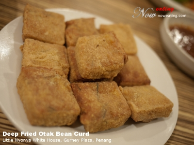 Deep Fried Otak Bean Curd