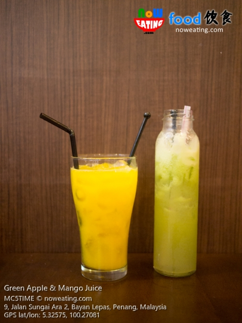 Green Apple & Mango Juice