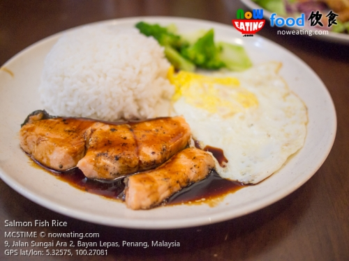 Salmon Fish Rice