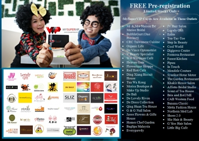 MySuperVIP Participating Outlets