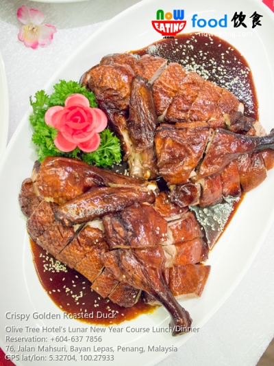 Crispy Golden Roasted Duck
