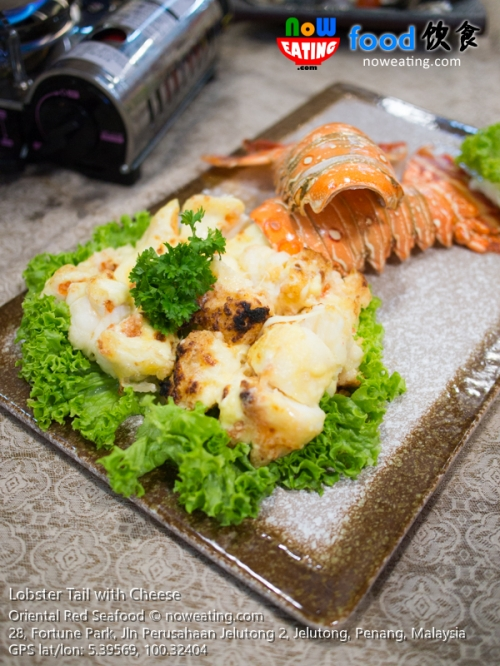 Lobster Tail with Cheese