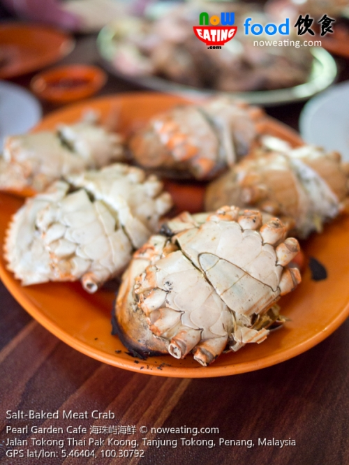 Salt-Baked Meat Crab