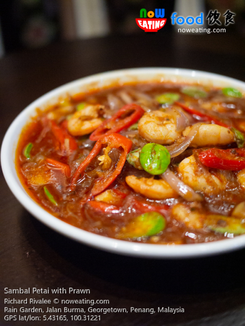 Sambal Petai with Prawn