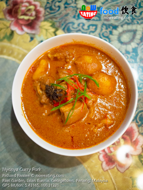 Nyonya Curry Pork