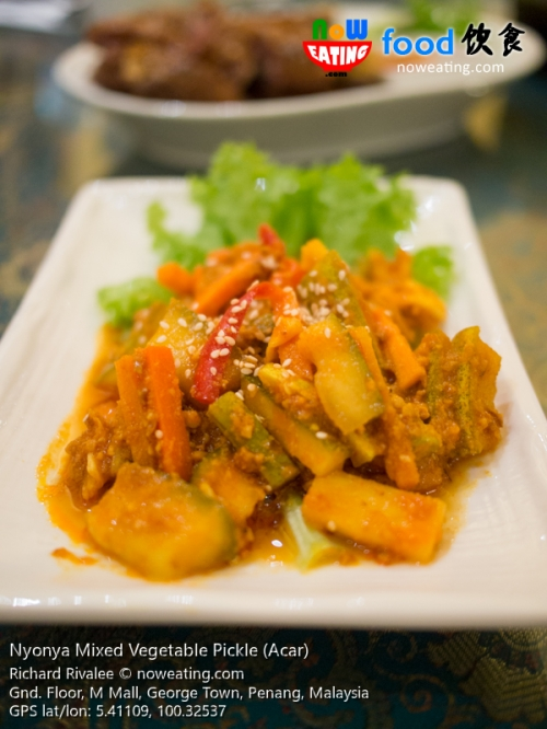 Nyonya Mixed Vegetable Pickle (Acar)