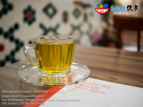 Vietnamese Pandan Green Tea
