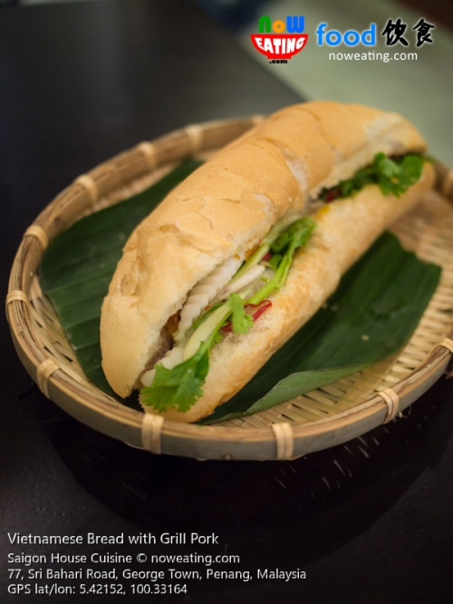 Vietnamese Bread with Grill Pork