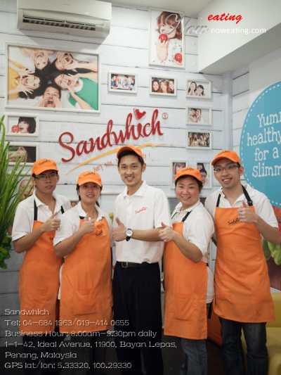 SandwhichTel: 04-684 1963/019-414 0655Business Hour: 8.00am-9.30pm daily