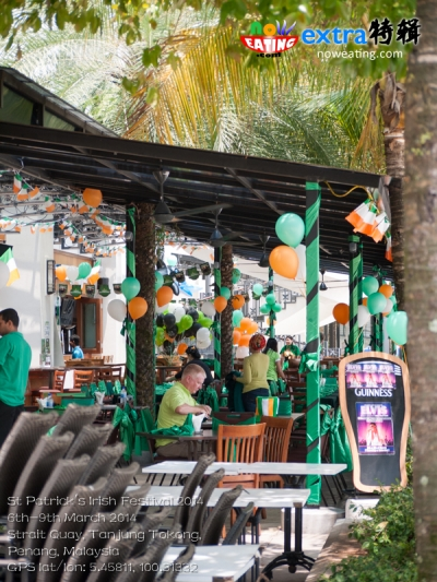 St Patrick's Irish Festival 20146th-9th March 2014