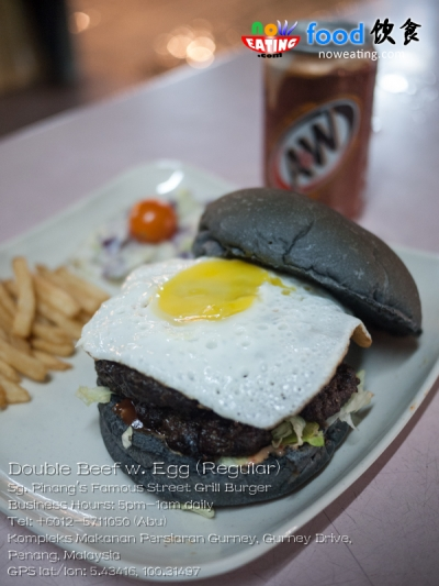 Double Beef w. Egg (Regular)