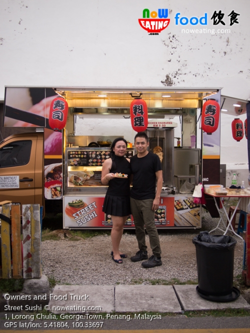 Owners and Food Truck