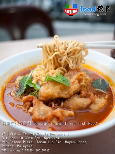 特味东炎炸鱼面 Special Tomyam Fried Fish Noodle
