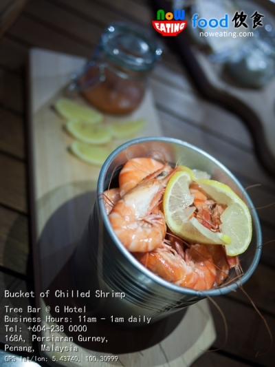 Bucket of Chilled Shrimp