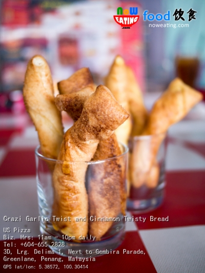 Crazi Garlic Twist and Cinnamon Twisty Bread