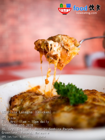 US Pizza Lasagna (Chicken)