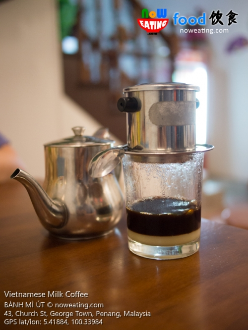 Vietnamese Milk Coffee
