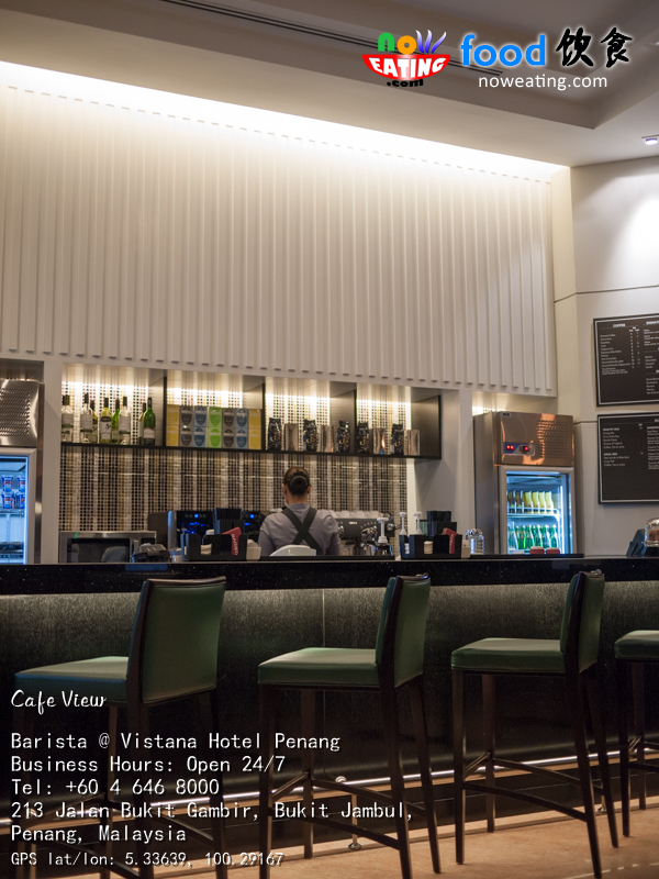 Barista Coffee Bar Vistana Hotel Penang Now Eating
