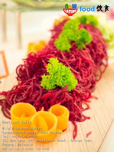 Beetroot Curls